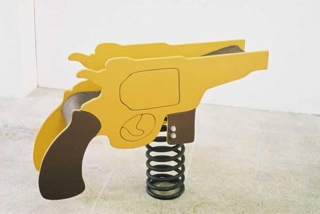 Pistola 1000 mm. Txaro Fontalba