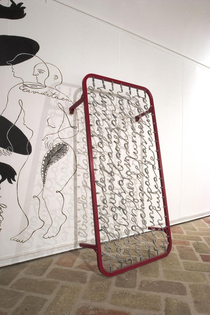 """""""Carta de amor"""" en la exposición El Monstruo Menguante"""